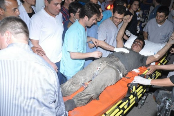 Turkish authorities said 57 injured miners had been safely extracted and moved to local hospitals [Xinhua]