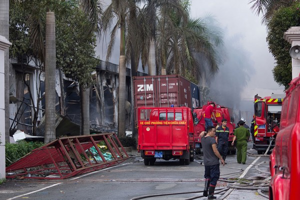 Official sources in Taiwan say that over 100 of the country's companies in Vietnam have been attacked [AP]