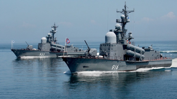 File photo of Guards missile boats of the Russian Pacific Fleet [Xinhua]