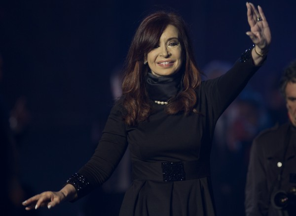 "Kirchner has previously referred to hedge fund creditors as ""vultures"" [Xinhua]"