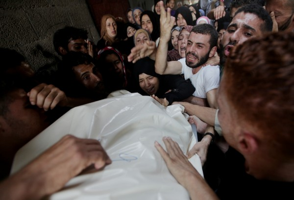 More than 690 Palestinians and 35 Israelis have been killed since Tel Aviv launched attacks on the Gaza Strip [Xinhua]