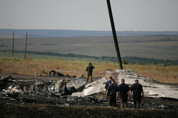 International investigators from the Organization for Security and Cooperation in Europe were finally granted access to the crash site last week [Xinhua]