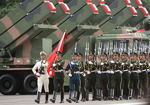 Chinese military is preparing to conduct major defence exercises [AP]