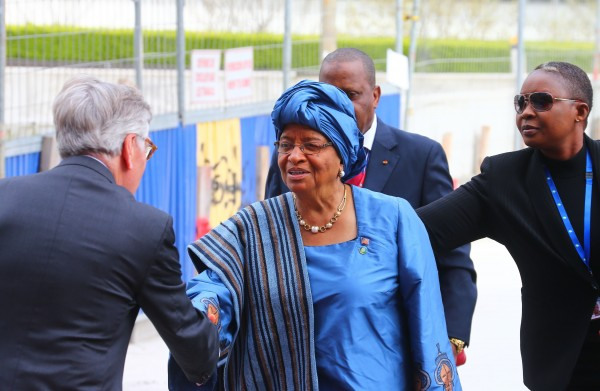 Liberian President Ellen Johnson Sirleaf has called for international assistance to get the outbreak under control [Xinhua]