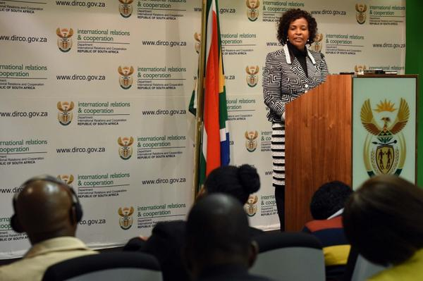 South African Foreign Minister Maite Nkoana- Mashabane has said South Africa's exit from AGOA would hinder African growth [GCIS]