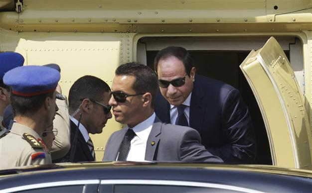 Abdel Fattah al-Sisi was sworn in as Egyptian president on June 8 [AP]