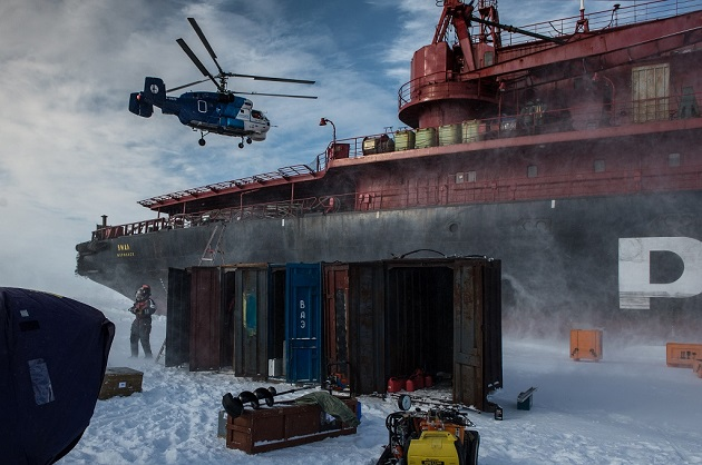 The Kara-Winter-2014 Ice Expedition finished field studies in the Arctic Ocean earlier this year [Image Courtesy: Rosneft]