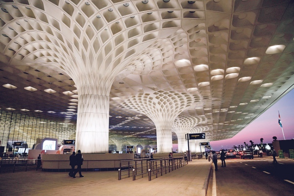 File photo of T2, the new integrated terminal at Chhatrapati Shivaji International Airport, during its inauguration in Mumbai, India [AP]