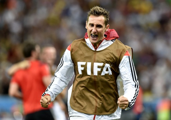 "Germany won what experts have called ""the best World Cup ever"", thanks to star players like Miroslav Klose (above) [Xinhua]"
