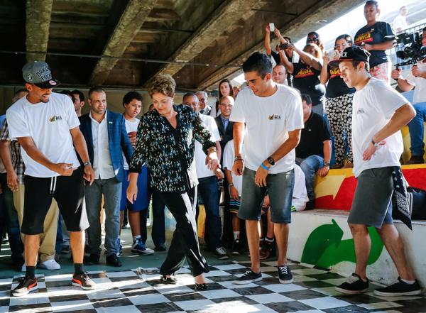 Rousseff got 37 per cent of the votes in the lead up to the Oct. 5 elections [gov.br]
