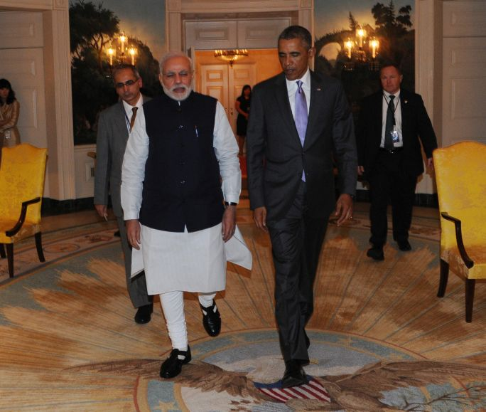 "Obama had announced in 2010 that New Delhi-Washington ties would become ""one of the defining partnerships of the 21st Century"", a promise that is yet to assume concrete shape [PMO, India]"