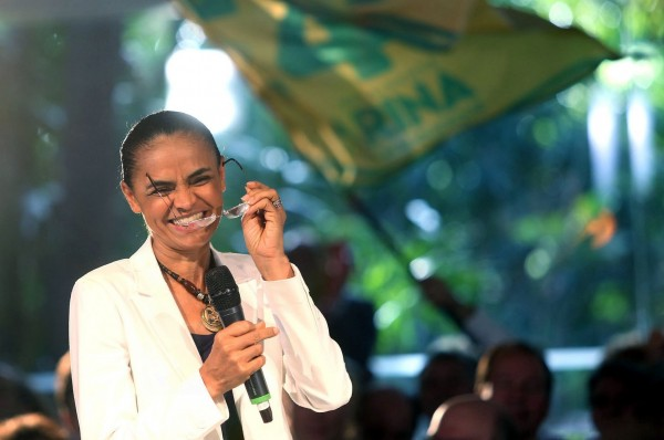 Support for Marina Silva, the Socialist Party candidate, appears to be dropping as Brazil gears up for the first round of presidential elections [Xinhua]