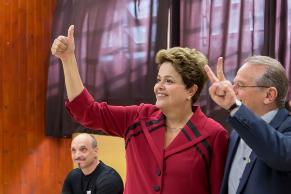 Incumbent Dilma Rousseff is expected to comfortably beat Aécio Neves in the second round of elections on October 26 [Xinhua]