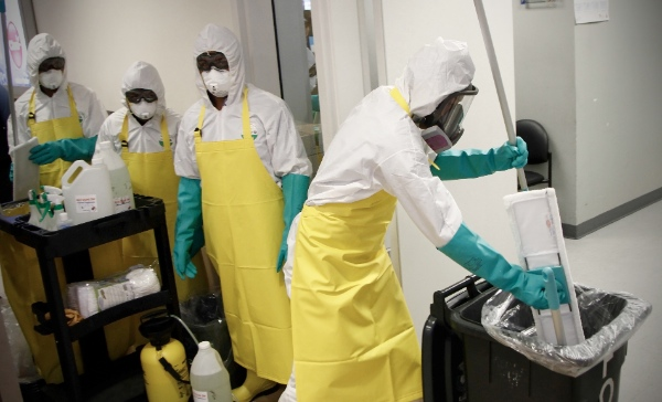 More than 4,500 people have died from Ebola, most in Guinea, Sierra Leone and Liberia [Xinhua]