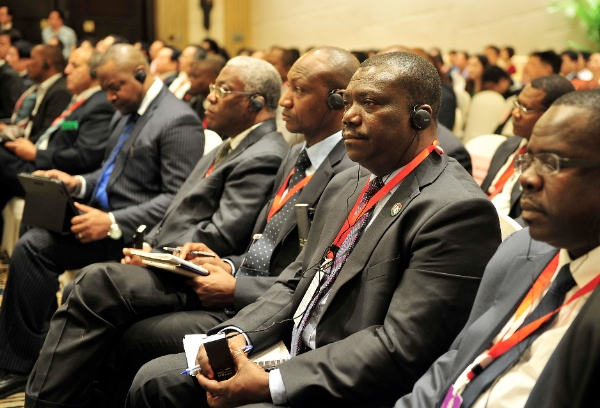 The 5th Roundtable Conference on China-Africa Cooperation is held in Wanning, south China's Hainan Province, Nov. 13, 2014 [Xinhua]