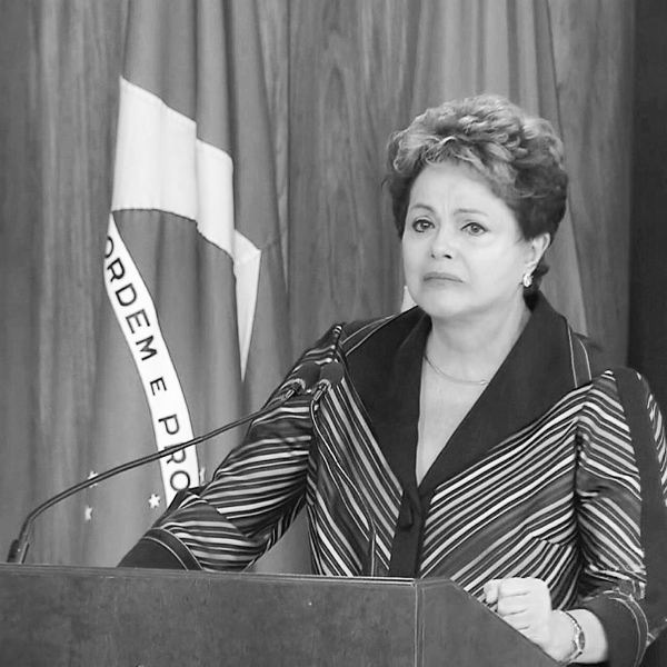 Rousseff weeps as she unveils report on torture by the military dictatorship [Image: Dilma Rousseff/Twitter]