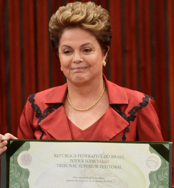 In naming her 39 ministers, Rousseff has to carefully balance the demands of the nine parties that make up her ruling coalition [Image: gov.br]