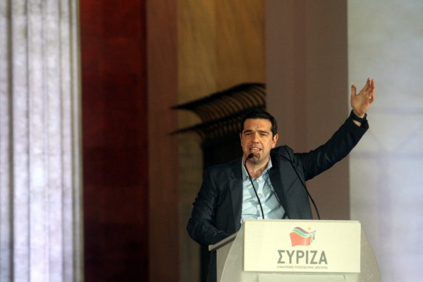 Syriza leader Alexis Tsipras says Greeks have clearly sent a message about bailout and austerity to the European Union [Xinhua]