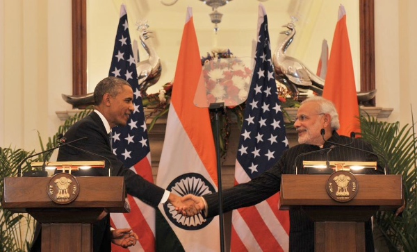 US President Barack Obama concluded a 3-day India visit on Tuesday [Image: PMO India]