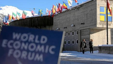 The 40 heads of state or government expected in Davos include those from China, South Africa, France, Germany, Italy, Turkey, Ukraine, Iraq and Tunisia [Image: WEF]