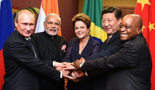The BRICS Bank launched last year will fund infrastructure projects in Brazil, Russia, India, China and South Africa, and challenge the dominance of the Western-led World Bank and the IMF [GCIS]