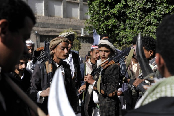 Houthi fighters took over the Yemeni capital Sanaa in January and arrested its government, prompting a Saudi-led campaign against the rebel group [Xinhua]