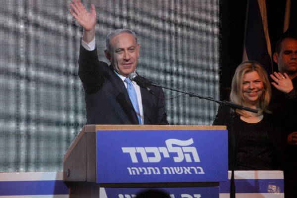 Netanyahu appeared to backtrack on the issue of the Palestinian state following his election win on Tuesday, but the White House remains critical [Xinhua]