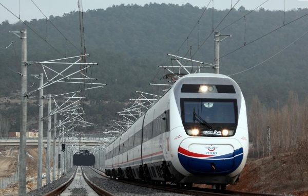 File photo: a high-speed railway constructed by China Railway Construction Corporation Limited (CRCC) in Turkey [Xinhua]