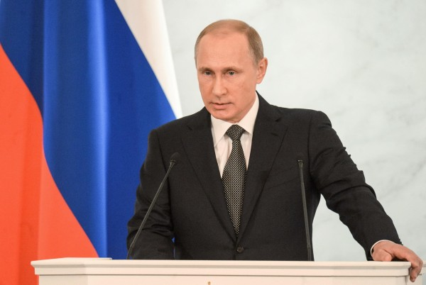 Putin says that the attacks in Lahore, Pakistan are endemic of the barbarity and inhumanity of a terrorist movement that has no respect for life [Xinhua]