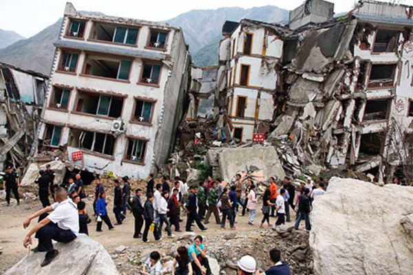 The capital Kathmandu was hardest hit by the 7.8-magnitude quake even though it lies some 77km from the epicenter [Xinhua]
