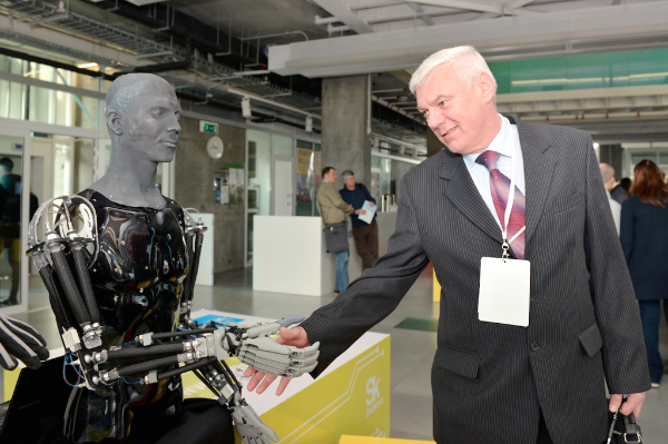 File photo of the third Skolkovo Robotics International Conference in March 2015 [Image: Skolkovo]