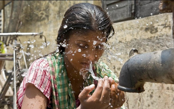 Around 400 people have died due to intense heat wave across India in the last four days, a senior official said Sunday [Xinhua]