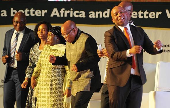 President Zuma attends Africa Day celebrations held at University of Pretoria, Mamelodi Campus on 24 May 2015 [Image: Presidency.za]