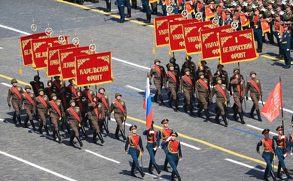 Military parade to mark the 70th anniversary of Victory in the Great Patriotic War of 1941–1945 [PPIO]