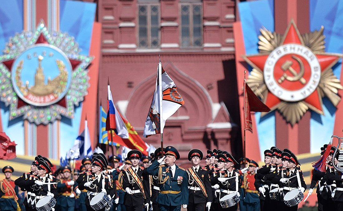 File Photo: Victory Day parade at Red Square i Moscow, Russia on may 9 2014 [PPIO]