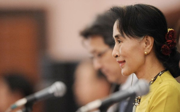 The junta-drafted constitution in Myanmar bars the opposition leader Suu Kyi from becoming president [Xinhua]