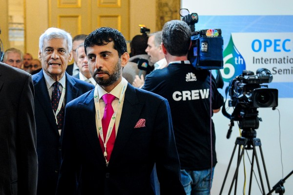 United Arab Emirates Minister of Energy Suhail Mohammed Al-Mazrouei attends the Organization of the Petroleum Exporting Countries (OPEC) 's 6th International Seminar (with major energy companies) in Vienna two days ahead of OPEC's Summit of members [Xinhua]