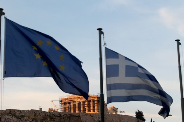 "Greece says it won't exit the Eurozone, but European markets are bracing for what some have called a ""Grexit"" [Xinhua]"