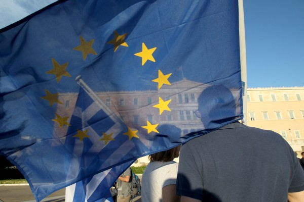 The shadow of a Greek exit from the eurozone looms as some begin withdrawing monies from local banks [Xinhua]