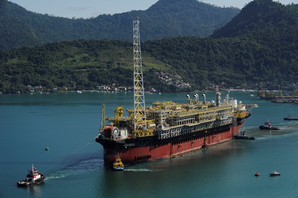 File photo: An offshore oil rig of Petrobras, Brazil [Image: Petrobras]
