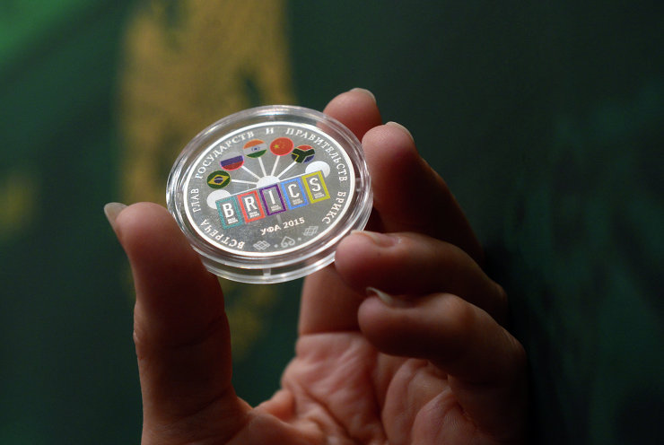 The Bank of Russia issues silver commemorative coins for 7th BRICS Summit in Russia [Image: brics2015.ru]