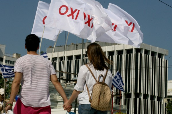 By voting no, Greeks have turned their backs on austerity and reform measures demanded by their European creditors [Xinhua]