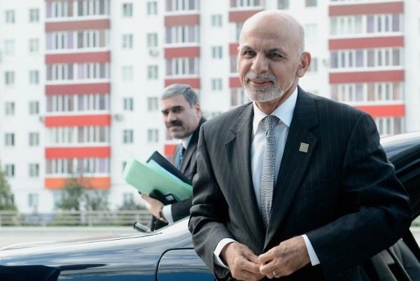 President of Afghanistan Ashraf Ghani Ahmadzai arrives in Ufa ahead of a Shanghai Cooperation Organisation Summit in Ufa, Russia on 9 July 2015 [PPIO]