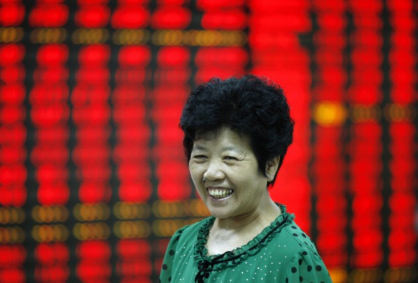 Chinese investors believe they have something to smile about as speculation rises that the government might yet again intervene to stabilize markets [Xinhua]