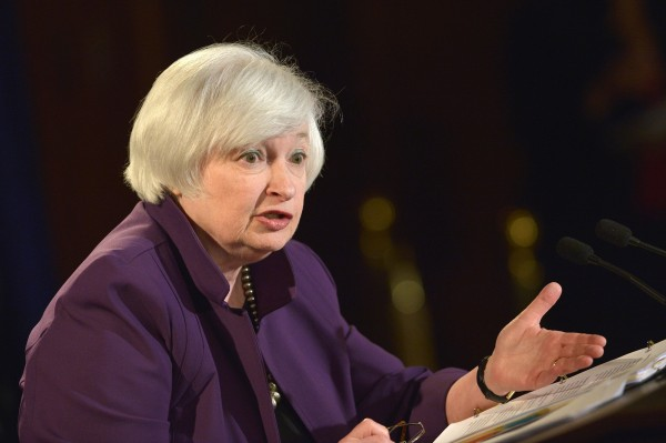 File photo of Fed Chief Janet Yellen who Thursday said that an interest rate hike will likely occur later this year [Xinhua]