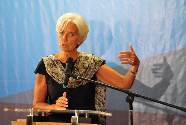 Lagarde said that even for advanced economies, activity is projected to pick up only modestly this year [Xinhua]