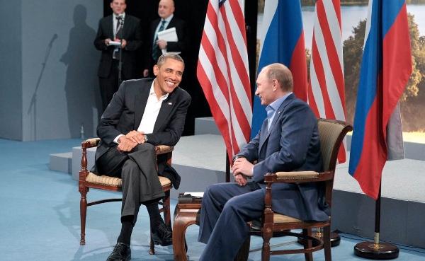 Putin and Obama at the G8 Summit on 18 June 2013 [PPIO]