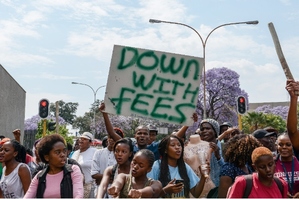 fee protests
