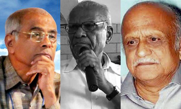Indian rationalist thinkers Narendra Dabholkar, Govind Pansare and writer Malleshappa Kalburgi
