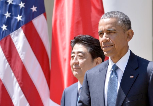 In a televised address following the agreement, Japanese Premier Shinzo Abe said bringing in China into the TPP group would be a strategic boost [Xinhua]
